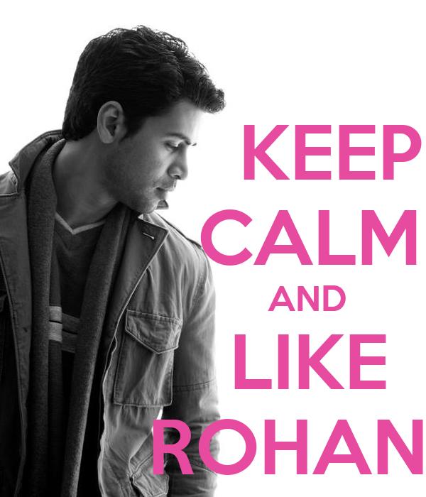 KEEP          CALM                    AND          LIKE        ROHAN