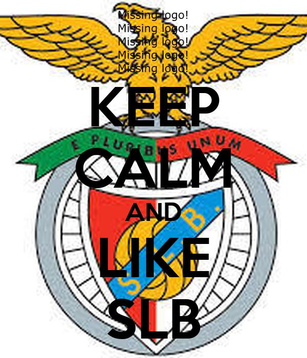 KEEP CALM AND LIKE SLB