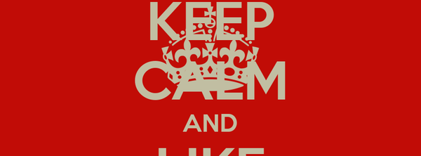 KEEP CALM AND LIKE TEAMSCHWAGG
