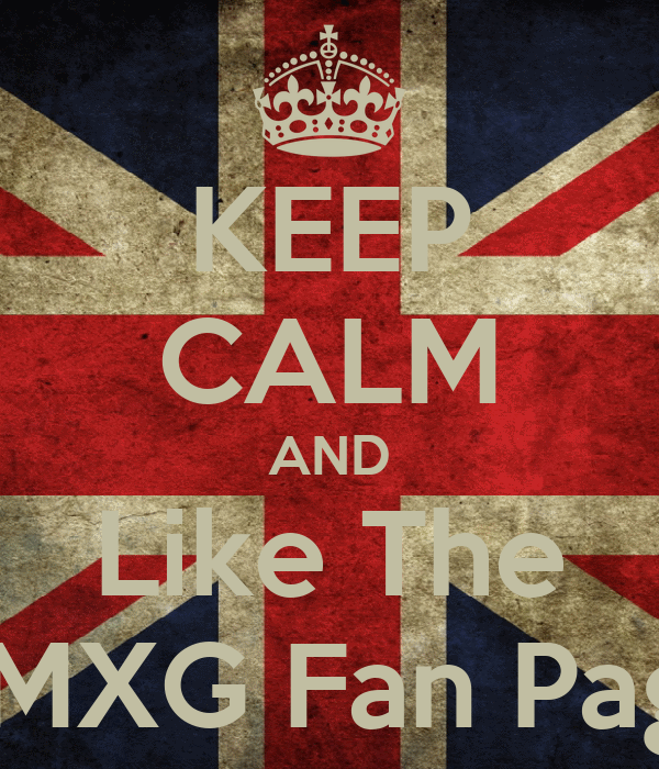 KEEP CALM AND Like The AMXG Fan Page