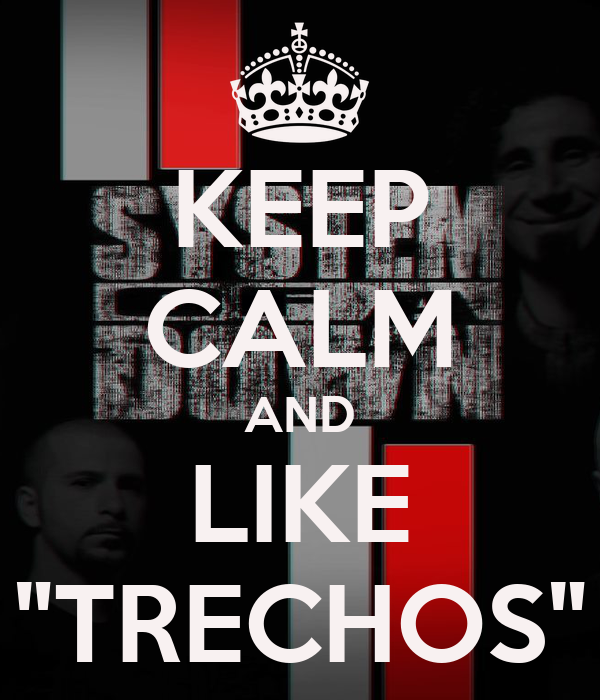 "KEEP CALM AND LIKE ""TRECHOS"""