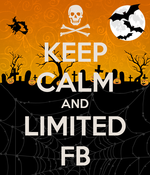 KEEP CALM AND LIMITED FB