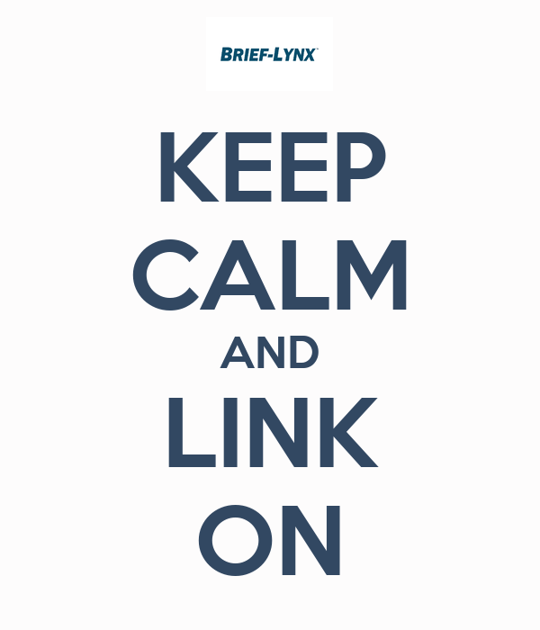 KEEP CALM AND LINK ON