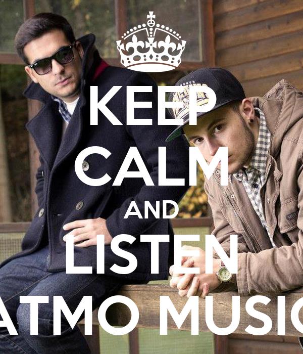 Keep Calm And Listen Atmo Music Poster Veronica Keep Calm O Matic