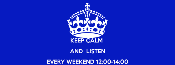 KEEP CALM  AND  LISTEN EVERY WEEKEND 12:00-14:00 URBAN MYTHS @ MINDRADIO.GR
