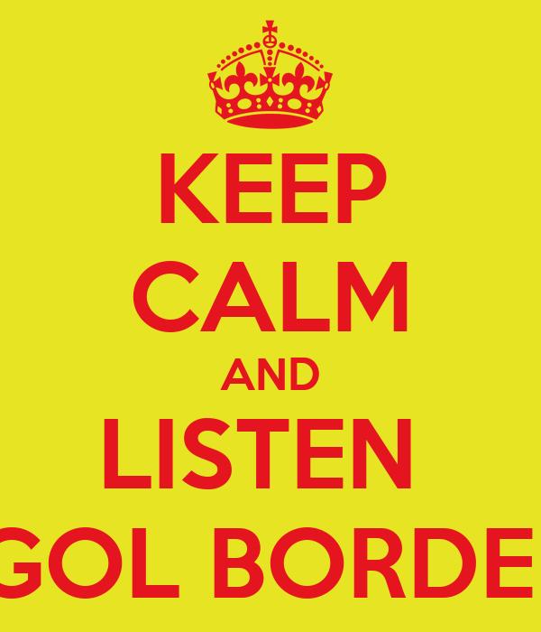 KEEP CALM AND LISTEN  GOGOL BORDELLO