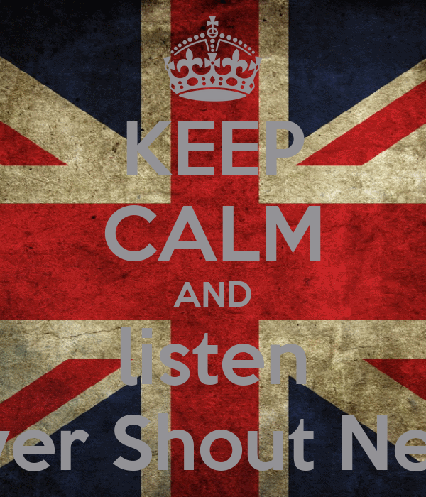 KEEP CALM AND listen Never Shout Never