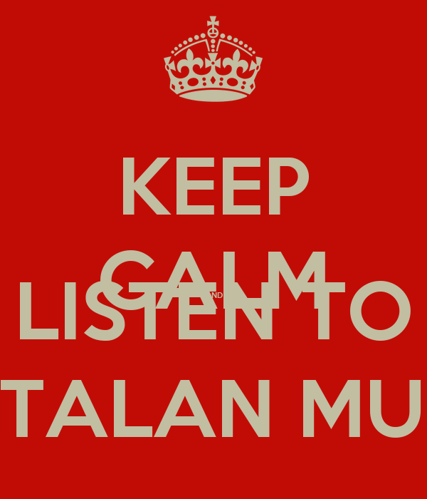 KEEP CALM AND LISTEN TO CATALAN MUSIC
