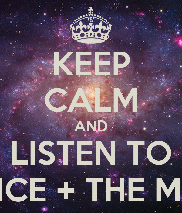 KEEP CALM AND LISTEN TO FLORENCE + THE MACHINE