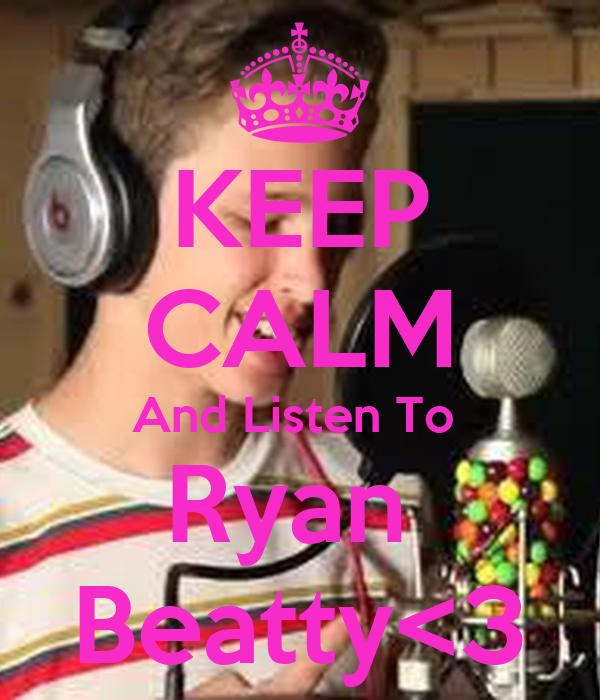 KEEP CALM And Listen To  Ryan  Beatty<3