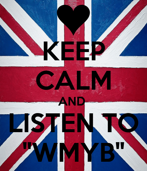 "KEEP CALM AND  LISTEN TO ""WMYB"""