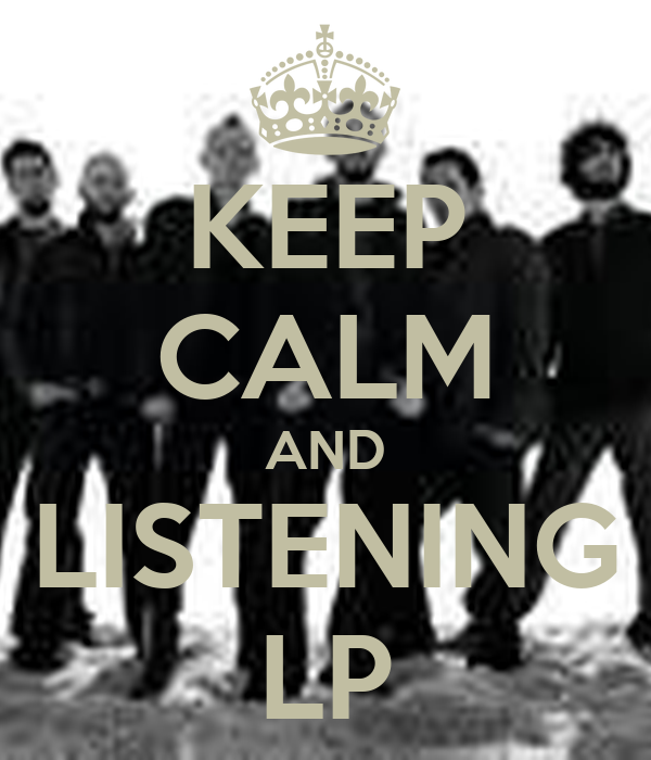 KEEP CALM AND LISTENING LP