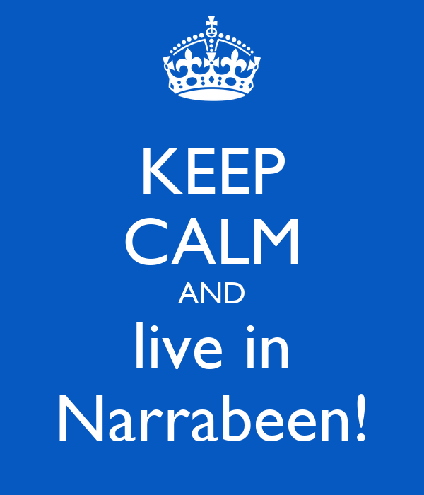 KEEP CALM AND live in Narrabeen!