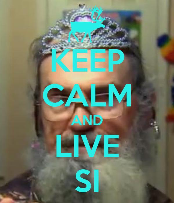 keep calm and live si poster kayla keep calmomatic