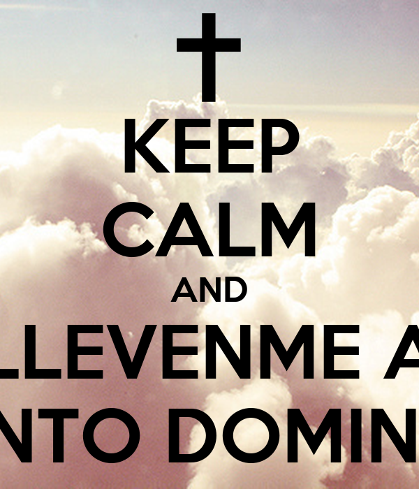 KEEP CALM AND LLEVENME A SANTO DOMINGO