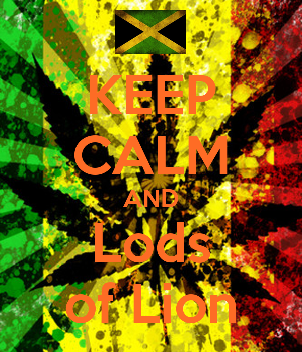 KEEP CALM AND Lods of Lion