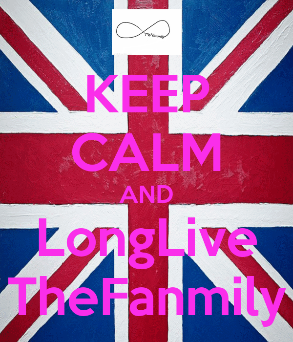 KEEP CALM AND LongLive TheFanmily