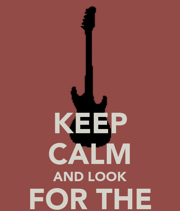 KEEP CALM AND LOOK FOR THE NEW SOUND