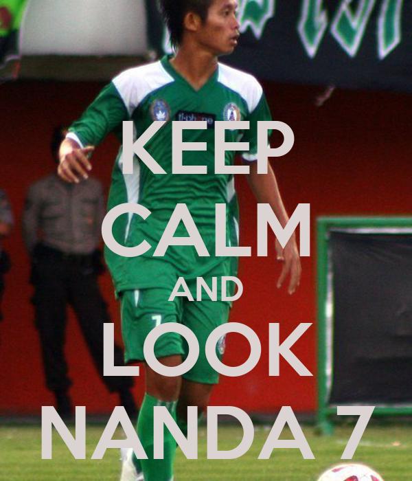 KEEP CALM AND LOOK NANDA 7