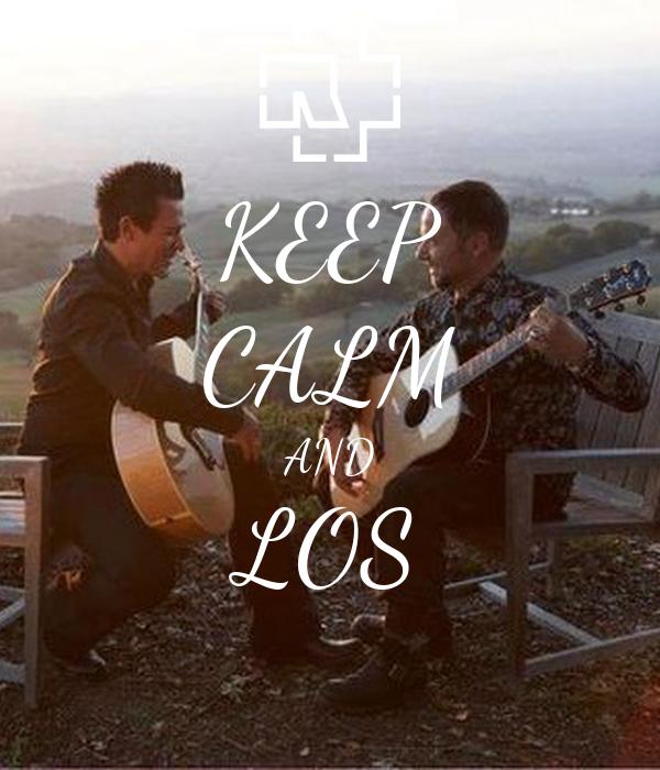 KEEP CALM AND LOS