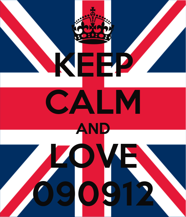 KEEP CALM AND LOVE 090912