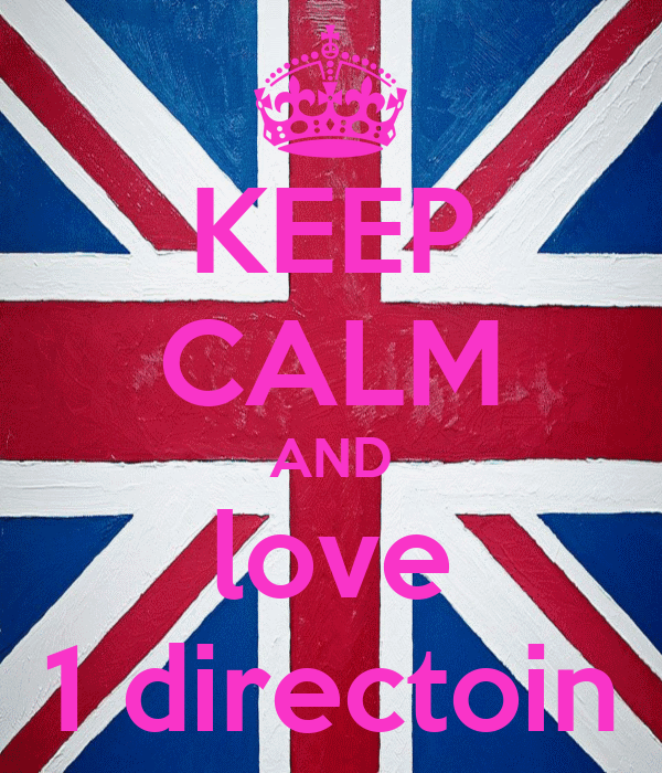 KEEP CALM AND love 1 directoin