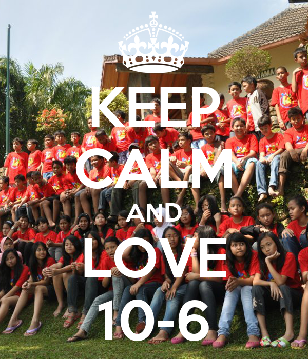 KEEP CALM AND LOVE 10-6