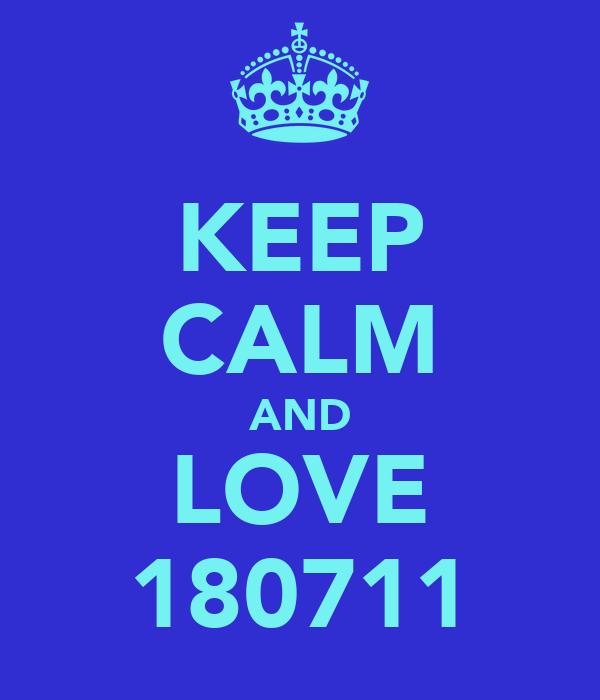 KEEP CALM AND LOVE 180711