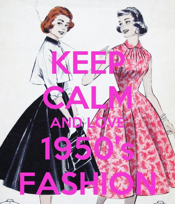 Keep Calm And Love 1950 39 S Fashion Poster Peta Keep