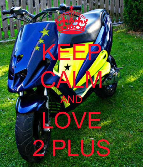 KEEP CALM AND LOVE 2 PLUS