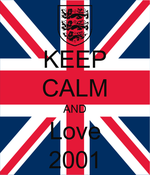 KEEP CALM AND Love 2001