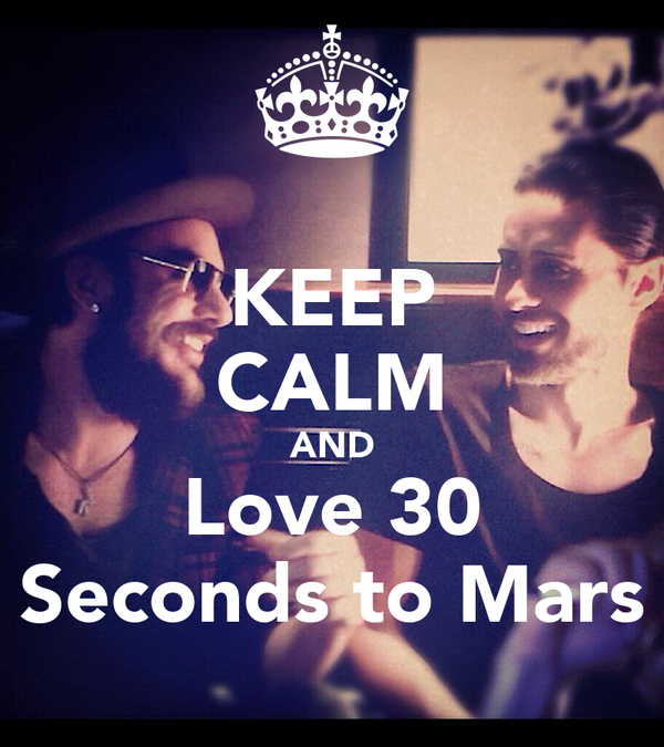 30 seconds to mars poster: