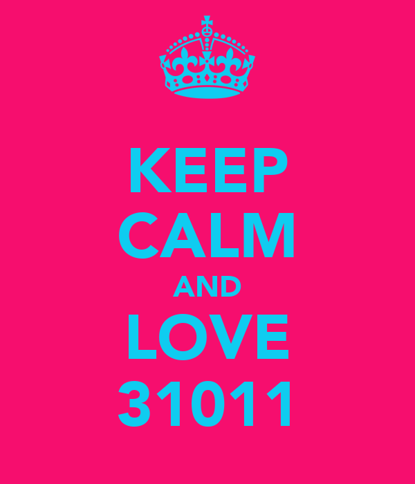 KEEP CALM AND LOVE 31011