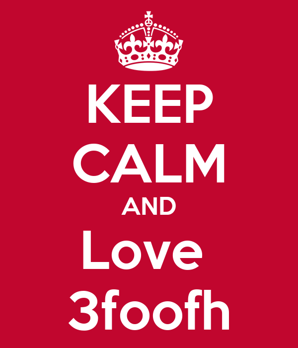 KEEP CALM AND Love  3foofh