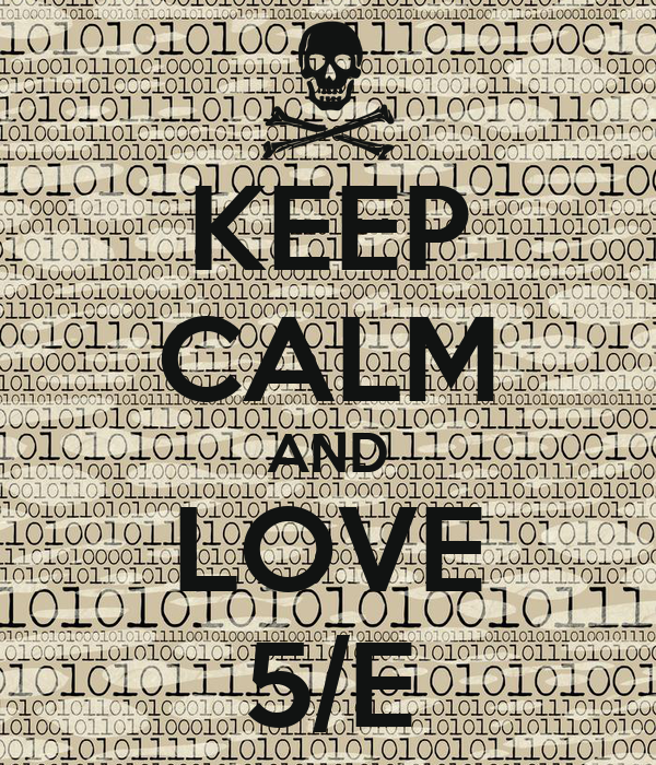 KEEP CALM AND LOVE 5/E