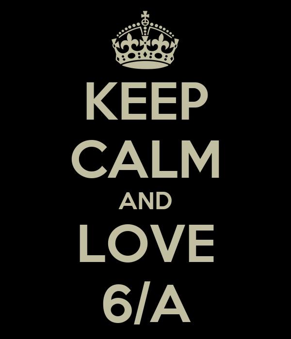 KEEP CALM AND LOVE 6/A