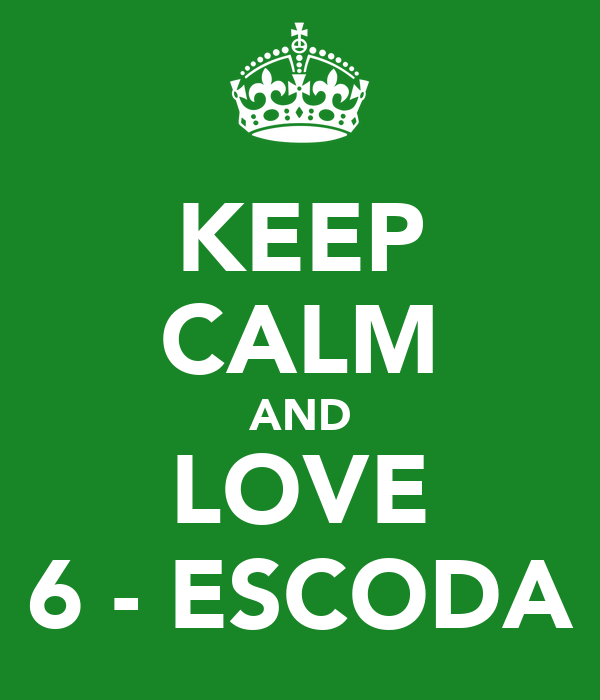 KEEP CALM AND LOVE 6 - ESCODA