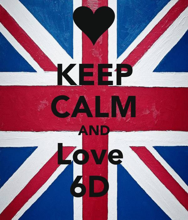 KEEP CALM AND Love  6D