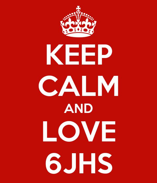 KEEP CALM AND LOVE 6JHS