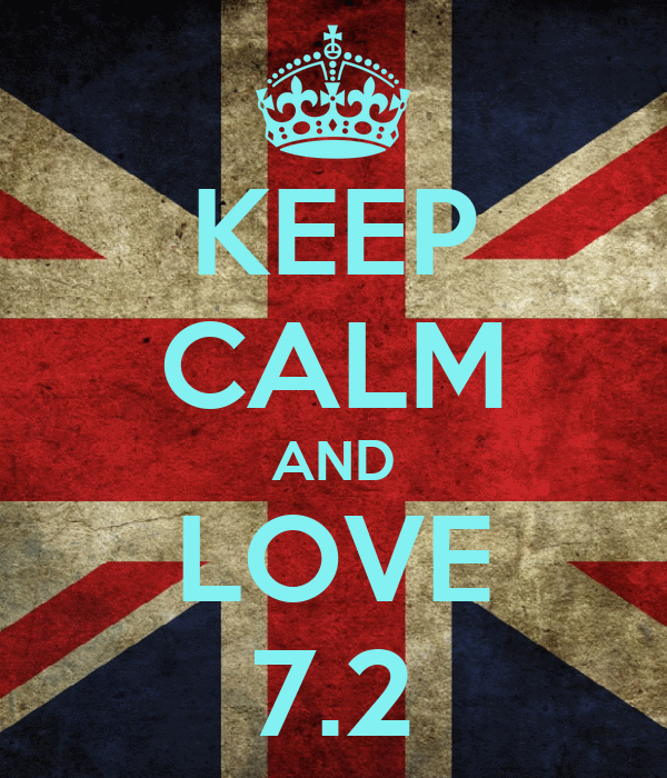 KEEP CALM AND LOVE 7.2