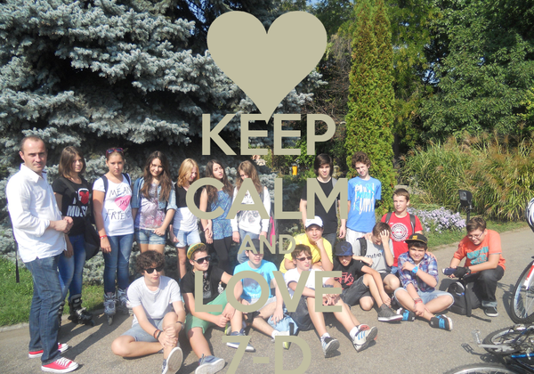 KEEP CALM AND LOVE 7-D