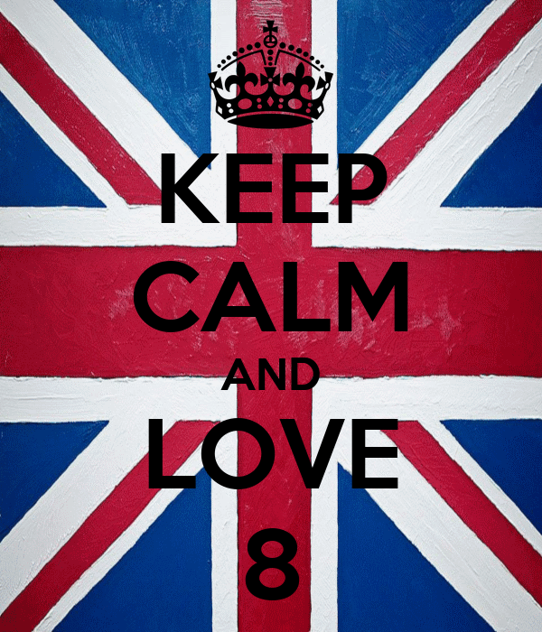 KEEP CALM AND LOVE 8