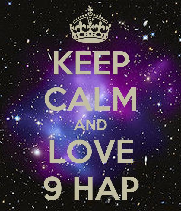 KEEP CALM AND LOVE 9 HAP