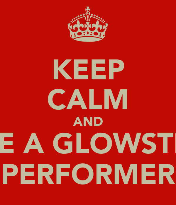 KEEP CALM AND LOVE A GLOWSTICKS PERFORMER