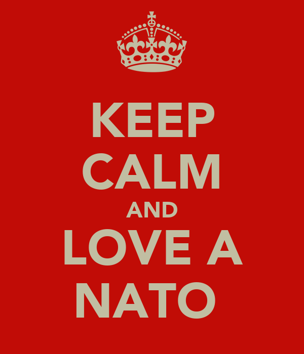 KEEP CALM AND LOVE A NATO