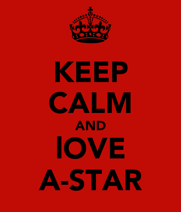 KEEP CALM AND lOVE A-STAR