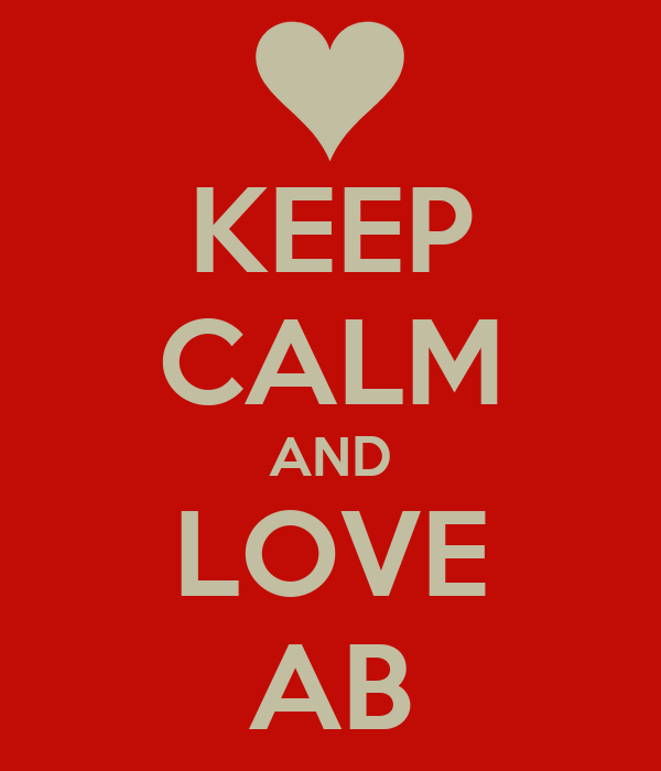 KEEP CALM AND LOVE AB