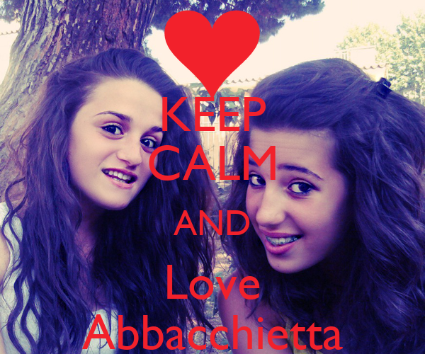 KEEP CALM AND Love Abbacchietta