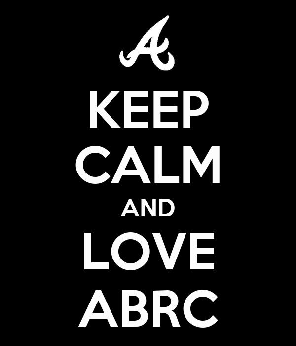 KEEP CALM AND LOVE  ABRC