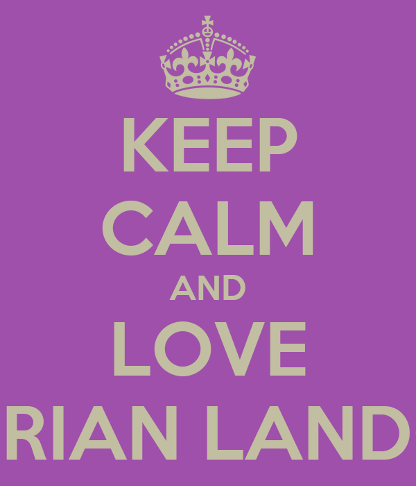 KEEP CALM AND LOVE ADRIAN LANDON